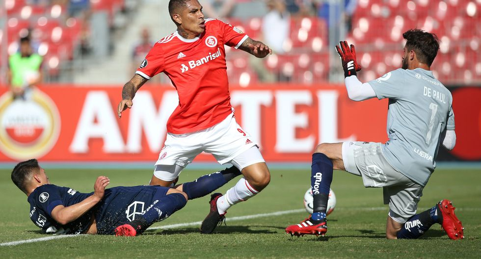 U de Chile vs Inter de Porto Alegre