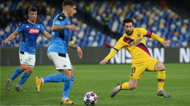 Post Partido Napoli vs Barcelona