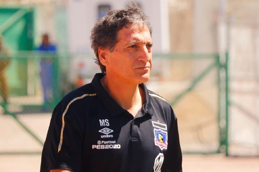 Mario Salas, DT de Colo Colo