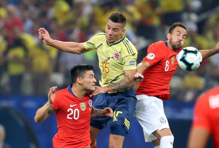 Chile enfrentará a Colombia en la segunda fecha de las Clasificatorias