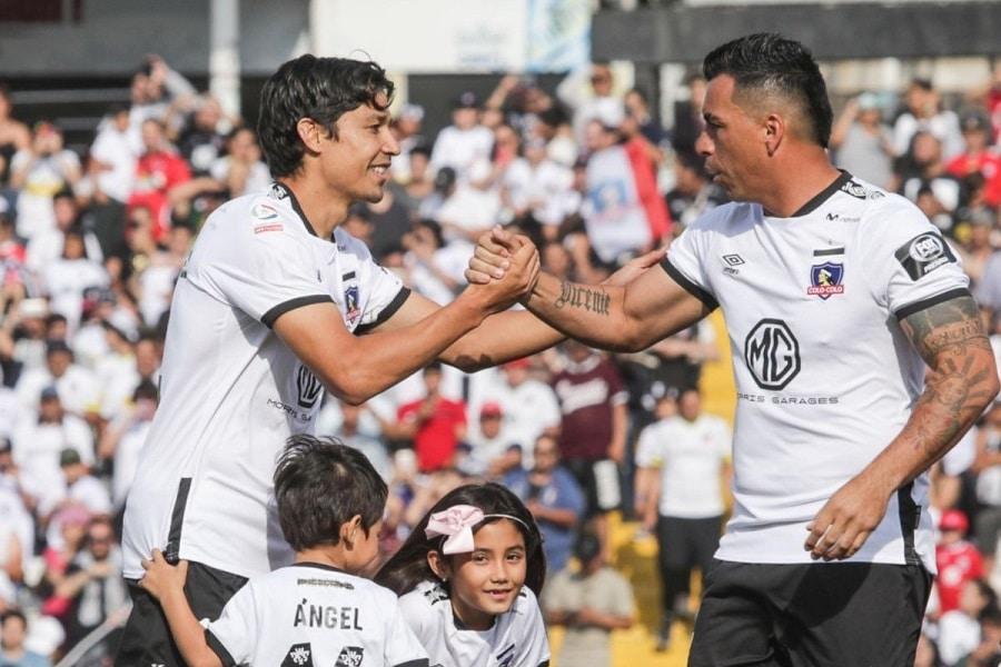 Matias Fernandez y Esteban Paredes